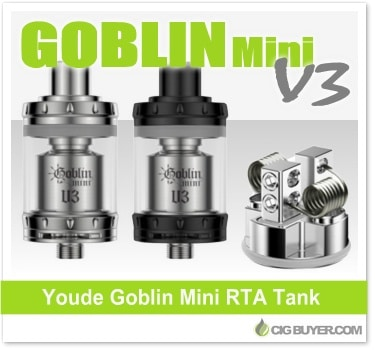 UD Goblin Mini V3 RTA Tank by Youde