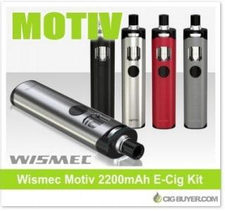 Wismec Motiv 2200mAh E-Cigarette Kit – $19.99