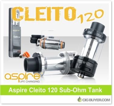 Aspire Cleito 120 Sub-Ohm Tank