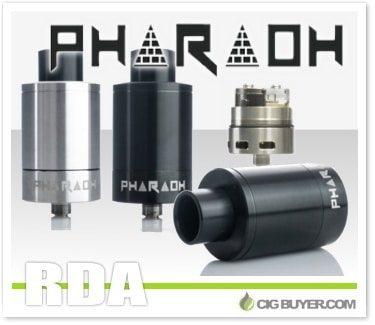 Digiflavor Pharaoh 25 Dripper RDA by RiP Trippers