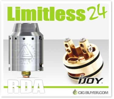 IJOY Limitless 24 RDA Deal