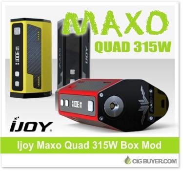Ijoy Maxo Quad 315W Box Mod
