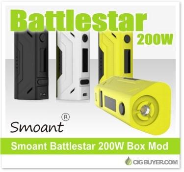 Smoant Battlestar 200W Box Mod