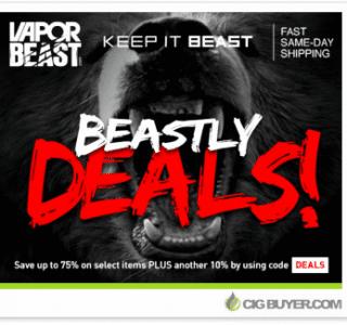 vapor-beast-clearance-deals