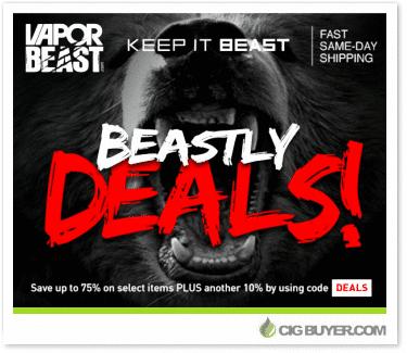New Vapor Beast Clearance Deals