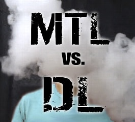 MTL (Mouth-To-Lung) vs. DL (Direct Lung) Vaping