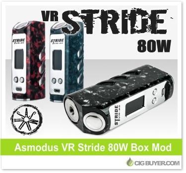 Asmodus VR Stride 80W Box Mod