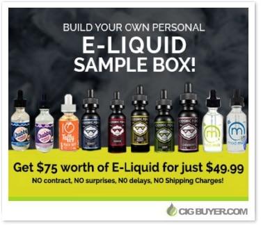 Aspen Valley Vapes Premium E-Liquid Sampler