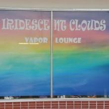 Iridescent Clouds Vapor Lounge