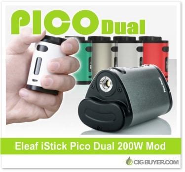 Eleaf iStick Pico Dual 200W Mod Kit