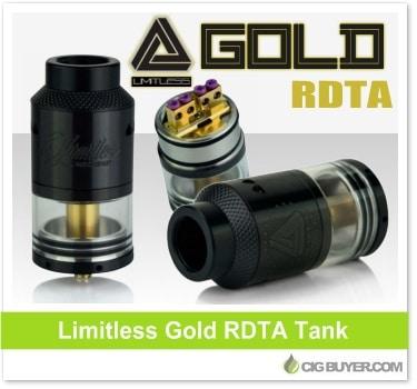 Limitless Gold RDTA Tank
