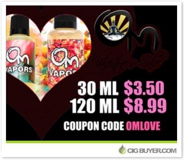 50% OFF Om Vapors E-Juice