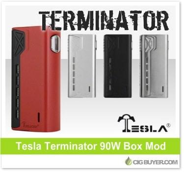 Tesla Terminator 90W Box Mod
