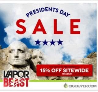 vapor-beast-presidents-day-sale