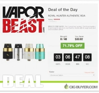 vapor-beast-royal-hunter-rda-deal