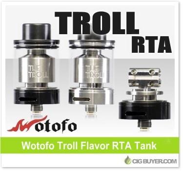 Wotofo Troll RTA Tank