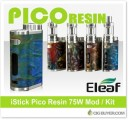 Eleaf iStick Pico Resin 75W Mod / Kit – From $36.50