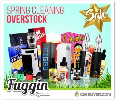Fuggin Vapor Spring Overstock Sale