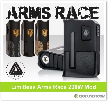Limitless Arms Race 200W Box Mod