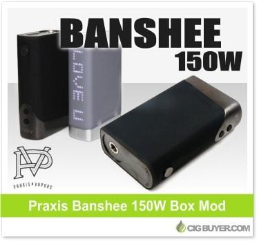 Praxis Banshee 150W Box Mod
