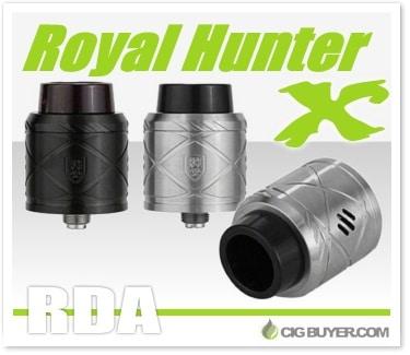 Royal Hunter X RDA by Council Of Vapor