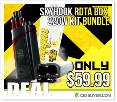 Smok Skyhook RDTA 220W Mod Kit Bundle