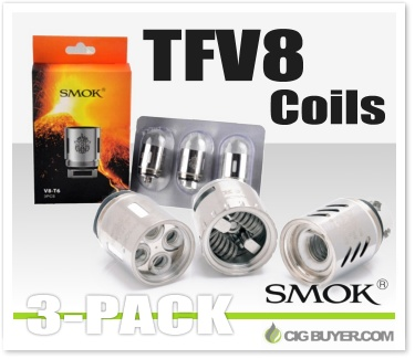 Smok TFV8 Tank Replacement Coils