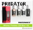 Wismec Predator 228 Box Mod / Kit – From $33.99