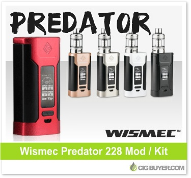 Wismec Predator 228 Box Mod / Kit
