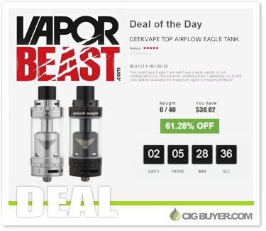 Geekvape Eagle Tank Deal Of Day