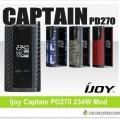 Ijoy Captain PD270 234W Box Mod – $44.44 PRE-ORDER