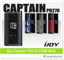 Ijoy Captain PD270 234W Box Mod – $29.99 / $43.99