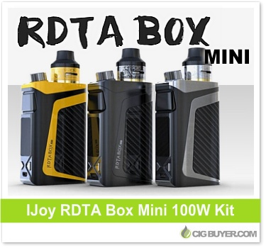 IJoy RDTA Box Mini 100W Mod Kit