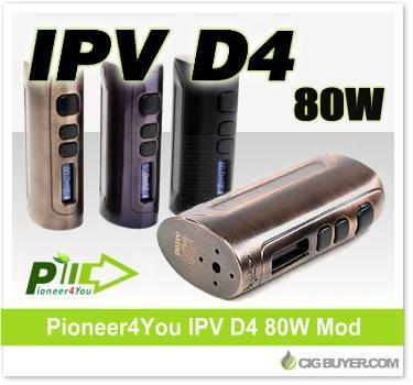 Pioneer4You IPV D4 80W Box Mod