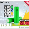 Sony VTC 18650 Battery Deal – From $5.49 Each