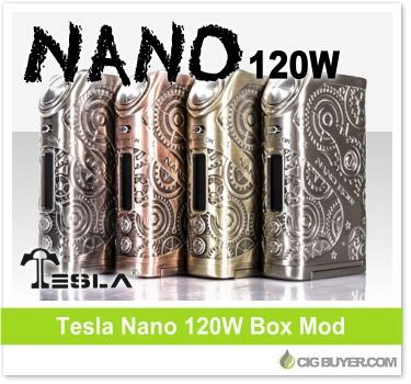 Tesla Nano 120W Box Mod
