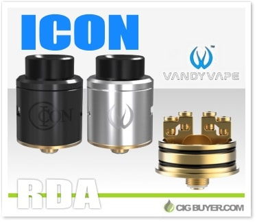 Vandy vape icon rda by mike vapes cig for Vape craft coupon code