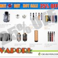 """25% OFF """"May Day"""" Sale at VaporL – SUPER LOW PRICES!"""