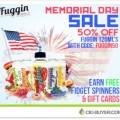 Fuggin Vapor Memorial Day Sale – 50% OFF E-Juice + Free Gifts