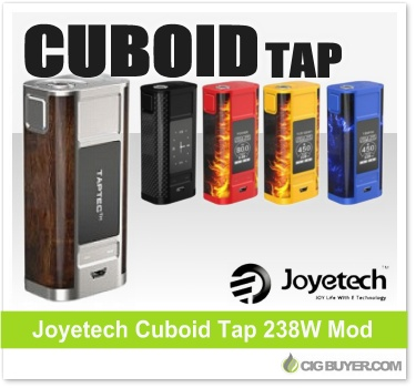 Joyetech Cuboid Tap 228W Box Mod / Kit