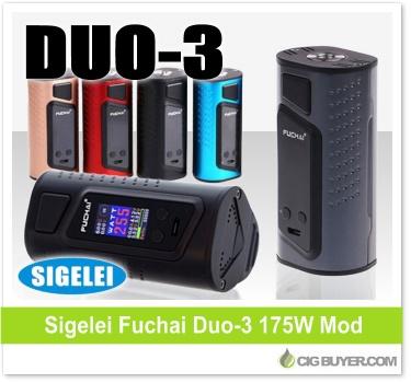 Sigelei Fuchai Duo-3 175W Box Mod