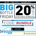 20% OFF Featured E-Liquid Bundles at Breazy.com