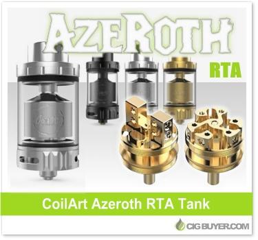 CoilArt Azeroth RTA Tank