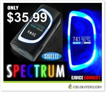 Sigelei Kaos Spectrum Box Mod Deal