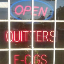 Quitters E-Cigs