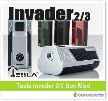Tesla Invader 2/3 Box Mod (240W - 360W)