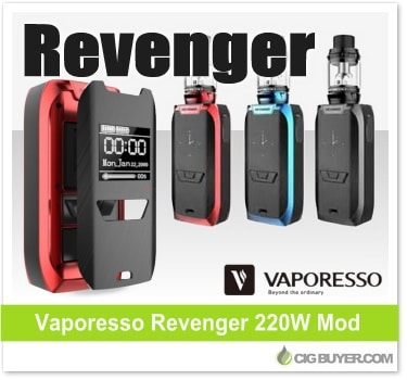 Vaporesso Revenger 220W Box Mod Kit