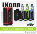 Eleaf iKonn 220W Box Mod / Kit – From $26.67