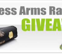 Limitless Arms Race 200W Mod Giveaway