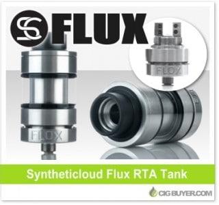 Syntheticloud Flux RTA / Sub-Ohm Tank – $35.99